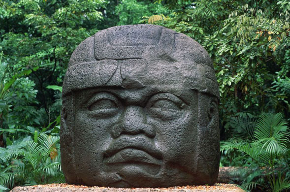 Mexico. Olmec culture, c. 900-400 BCE, height 7'5""