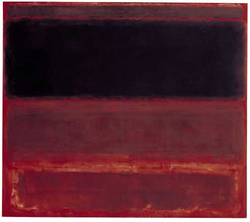 Mark Rothko Chapel. Mark Rothko Four Darks in Red