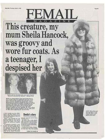 a life in cuttings sheila hancock brillfilms