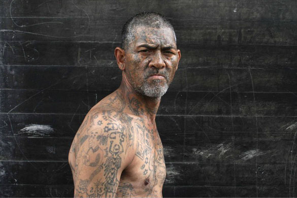 South Africa prison gang tattoos Omar is well over 6ft tall and covered in