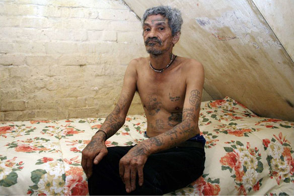South Africa prison gang tattoos. Joseph, now a part-time odd job man,
