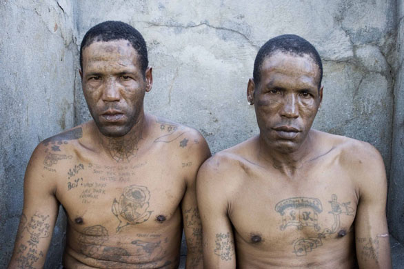 South Africa prison gang tattoos
