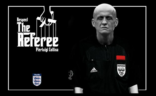 The FA's respect for referees campaign
