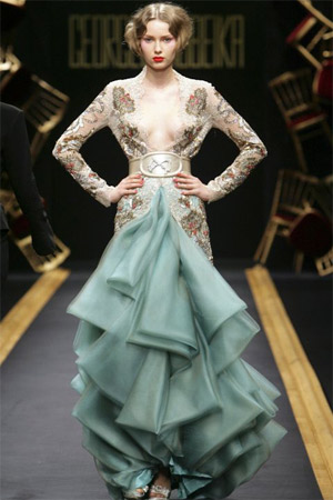 Paris fashion week haute couture fashion the guardian for Haute couture houses