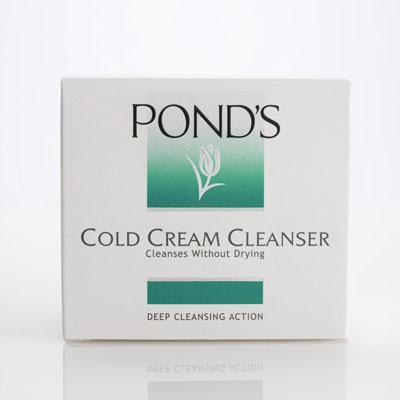 Pond's cold cream cleanser, £3.99. Buy online at pondsinstitute.co.uk