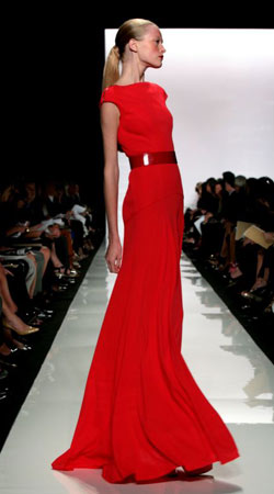 New York fashion week: Vera Wang | Life and style | guardian.co.uk :  new york fashion week fashion runway fashion fashionable