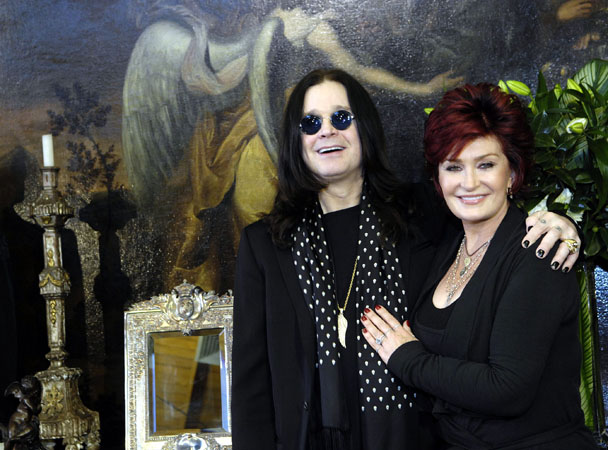 Ozzy Osbourne auction. Sadly you can't bid for either Osbourne's dazzling