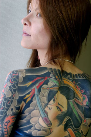 GD3445729@Shoko Tendo, daughter 5643 Yakuza Tattoos in Japan