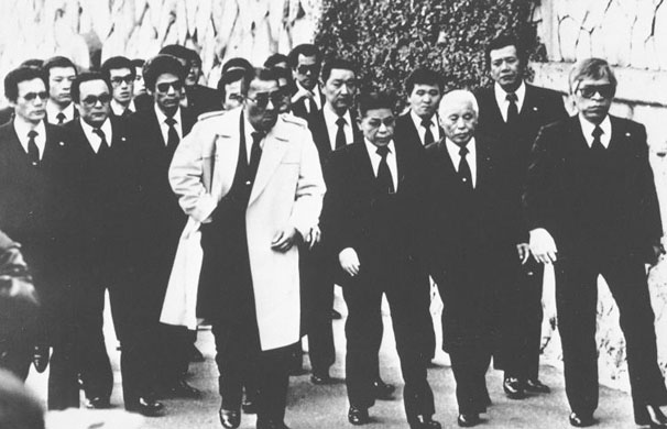 Group of Yakuza