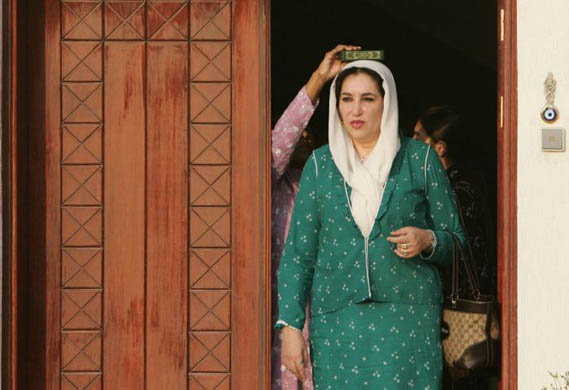 benazir bhutto hot photos. Benazir Bhutto returns to