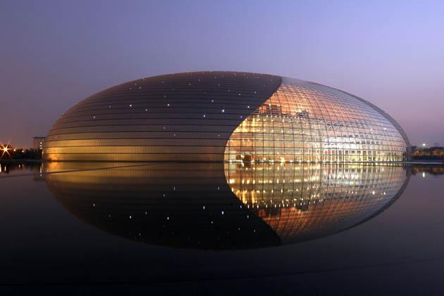 national theatre beijing edifici strani