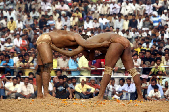 India-Pakistan friendship wrestling contest