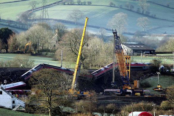 Cumbria rail crash