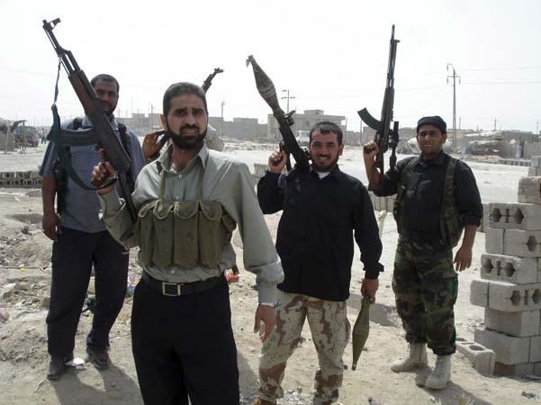 Mehndi Army : Iraqis fight mahdi army world news the guardian