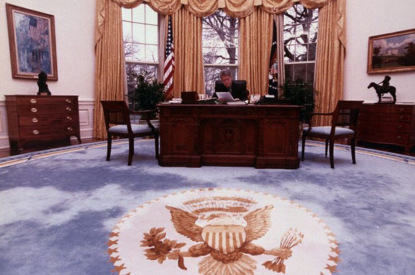 New Oval Office Rug