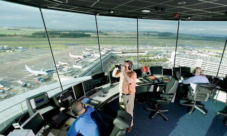 Control tower, Edinburgh airport