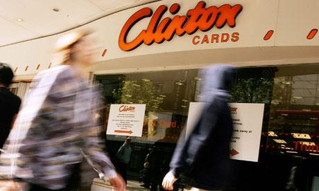 Clinton Cards facade