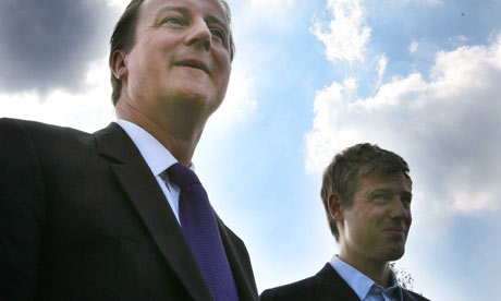 David Cameron with Zac Goldsmith