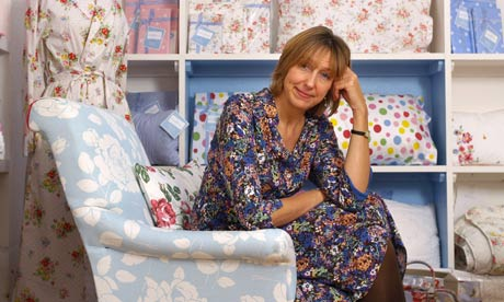 Cath Kidston at her showroom, London