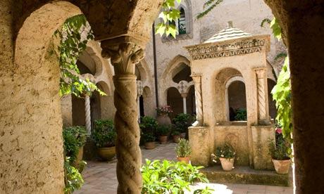 Cloister at Villa Cimbrone, Ravello