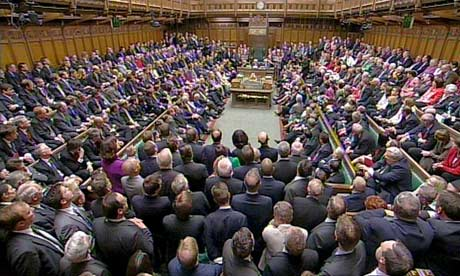 House of Commons full of MPs