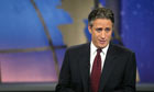 US TV presenter Jon Stewart