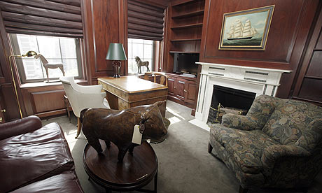 Bernard Madoff's apartment on the upper east side of Manhattan