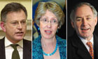 Ex-ministers in lobbying row