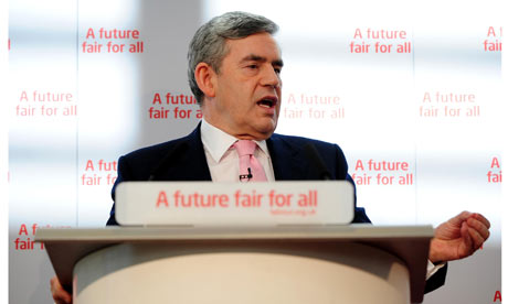 Gordon Brown launches Labour's general election pledges