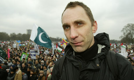Will Self, Hyde Park, 2003