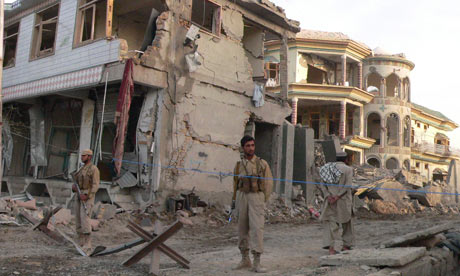 Car bomb, Kandahar compound