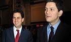 David and Ed Miliband.