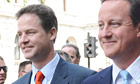 Nick Clegg and David Cameron at the sate opening of parliament