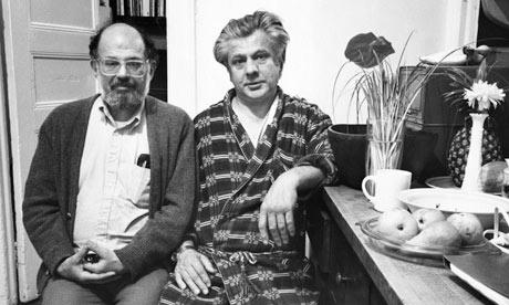 Peter Orlovsky e allen ginsberg