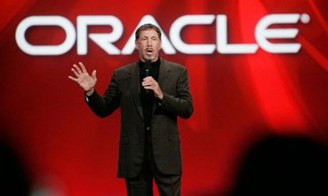 Larry Ellison of Oracle.