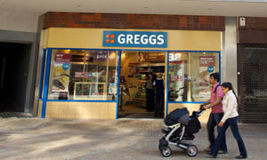 Greggs the bakers.
