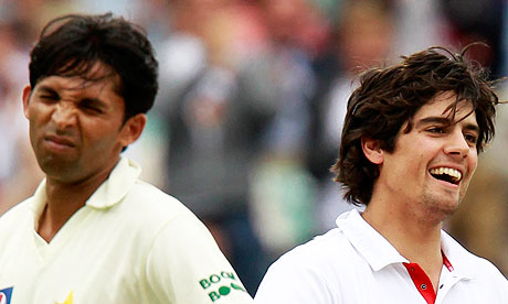 alastair cook ashes. Alastair Cook, Mohammad Asif