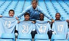 Soccer - Manchester City Training Session and Press Conference - City of Manchester Stadium