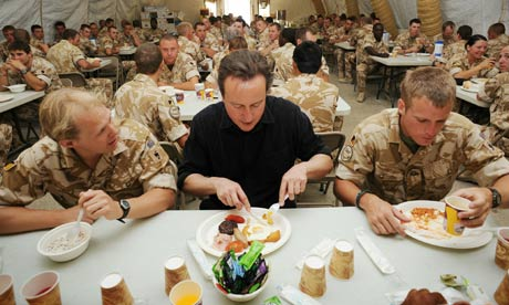 David Cameron Visits Afghanistan