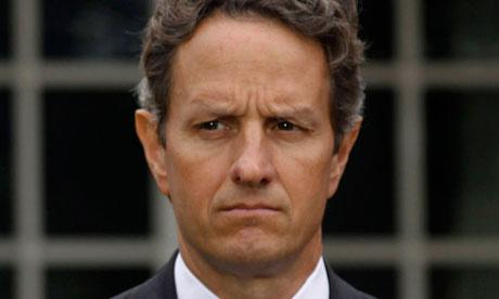 Tim Geithner, US Treasury secretary