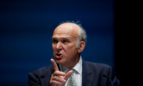 Vince Cable liberal democrat conference 2010