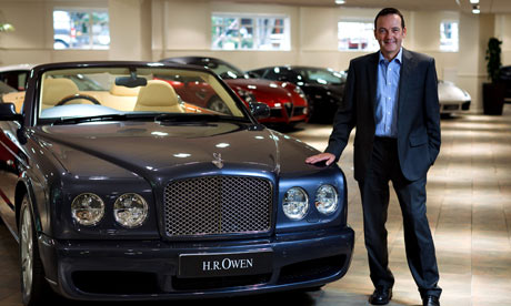 Former Channel 4 boss Andy Duncan has joined luxury car dealer HR Owen