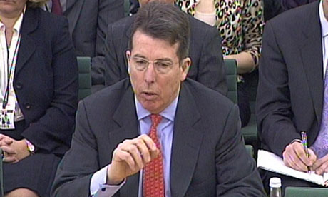 Diamond faces Treasury select committee