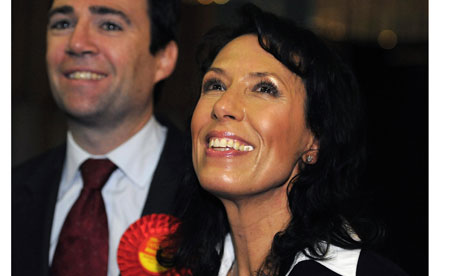 Debbie Abrahams and Andy Burnham