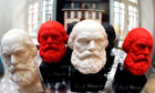 Busts of Karl Marx