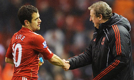 Joe Cole, Roy Hodgson, Liverpool, Bolton