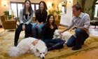 Amy Chua with Lulu (left), Sophia, jed rubenfeld