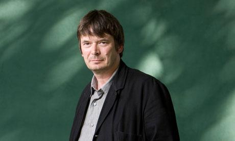 Ian Rankin photographed in Edinburgh