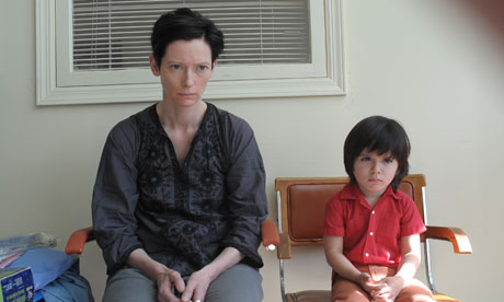 Tilda Swinton and Jasper Newell in We Need to Talk About Kevin.