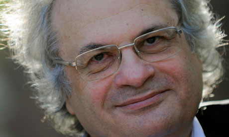 Lebanese writer Amin Maalouf photographed in Madrid in 2009